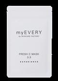myEVERY フレッシュCマスク3.3 (3枚セット 専用希釈水付き)